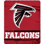 Atlanta Falcons, Established 1968, Fleece Throw Blanket